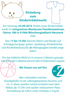 Flyer_Kindertrödel2016