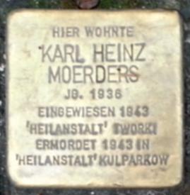 Gedenktag Stolperstein